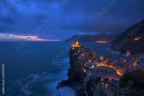 Foto auf AluDibond Ligurien Cinque Terre - Porto Venere - Vernazza - Manarola