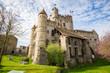 canvas print picture - Gravensteen Castle in Ghent, Flanders, Belgium