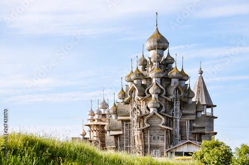 Fotomural Church of the Transfiguration - Kizhi Island, Russia