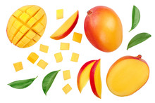 Mango Fruit Half With Slices I...