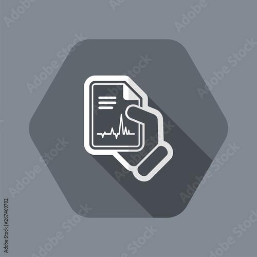 Medical diagnosis Canvas Print