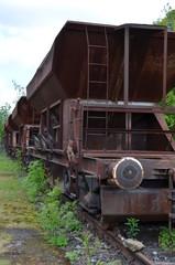 Fototapeta na wymiar Eisenbahn
