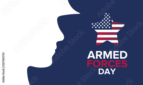 Armed Forces Day in May Canvas Print