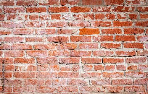 Full frame brick wall background