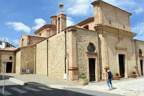 Fotografie, Obraz  Salandra (Matera) - Chiesa di san Rocco