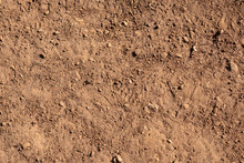 Texture Of Sand, Dirt, Birds Eye View On Surface, Background, Use As Texture