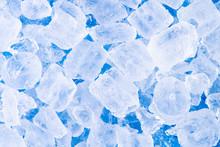 Close Up Fresh Cool Ice Tube B...