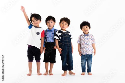 Fotografia  並ぶ男の子たち