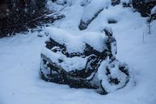 Sport Bike Completely Covered ...
