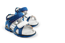 Blue Children's Shoes Sandals....
