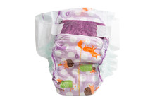 Baby Diapers Isolated