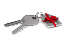 Two Keys And Trinket House On ...