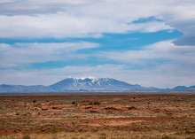 Humphreys Peak Mountain Range ...