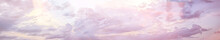 Heavenly Clouds Background / Abstract Beautiful Background Of Bright Clouds In The Sky