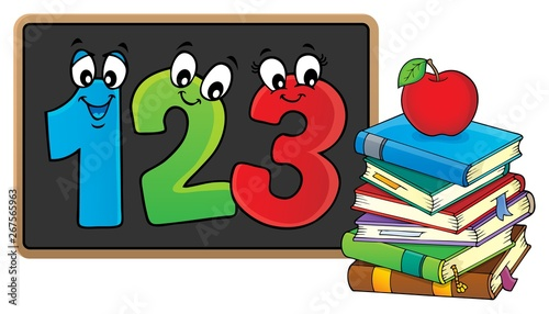 Printed kitchen splashbacks For Kids Schoolboard topic image 4