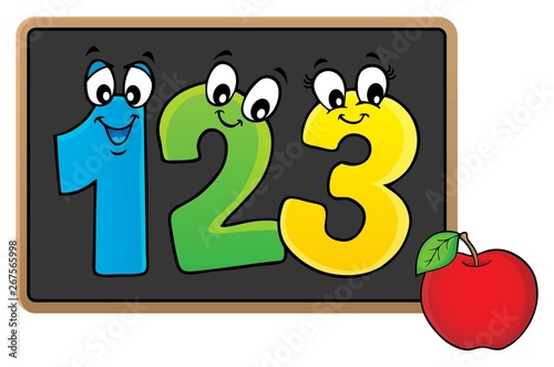 Printed kitchen splashbacks For Kids Schoolboard topic image 6