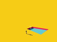 Swimming Pool Vector Cartoon I...