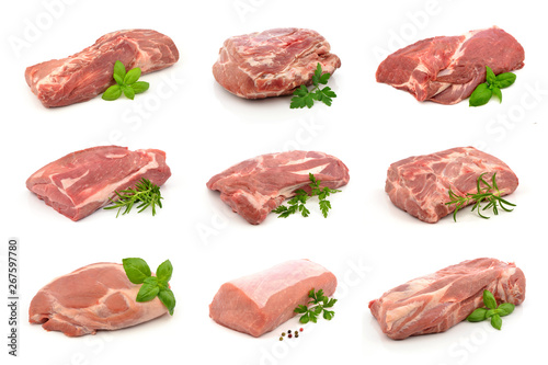 mięso wieprzowe - zestaw