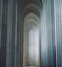 Grundtvig's Church In Copenhagen, Denmark.The Rare Example Of Expressionist Church Architecture. Stunning Interior Designed By Peder Vilhelm Jensen-Klint