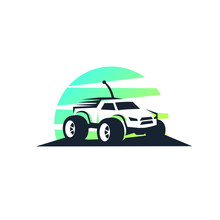 Rc Car Logo Template