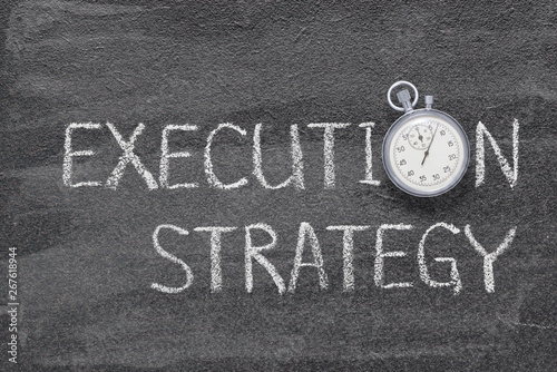 Photo execution strategy watch