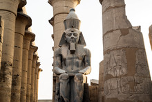 Rameses II Statue, Temple Of Luxor, Luxor, Egypt