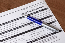 Drug Test Results Form And Pen...