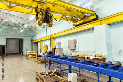 Machine Building Plant Fotobehang