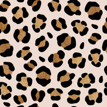 Leopard Pattern Design With Go...