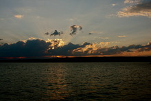 Sunset On Apostle Islands In N...