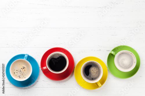 Coffee cups - 267655137