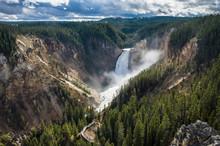 USA, Wyoming, Yellowstone National Park, Grand Canyon Of The Yellowstone