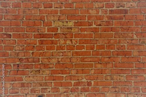 Foto auf AluDibond Graffiti brick