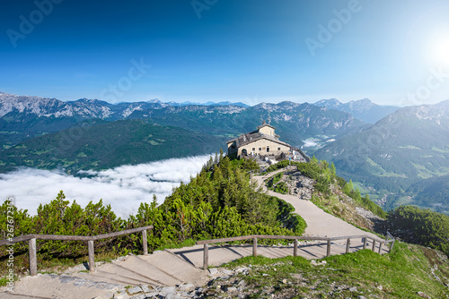 Eagle's Nest is a history place in Bavaria/Germany Canvas-taulu