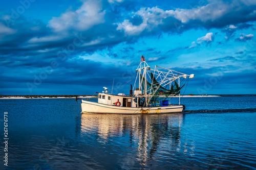 shrimpboat Canvas Print