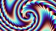 Endless spinning Revolving Spiral. Seamless looping footage. Abstract helix.