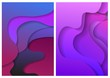 Abstract background from geometrical figures. Vector illustration