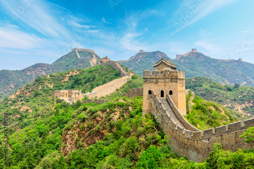 Papiers peints Pekin The Great Wall of China at Jinshanling