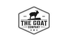 Goat Vintage Logo Design