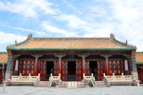 Shenyang Imperial Palace (Mukden Palace) Chongzheng Hall, Shenyang, Liaoning Province, China Canvas-taulu
