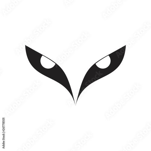 Fotografie, Tablou  cool bird eyes symbol vector