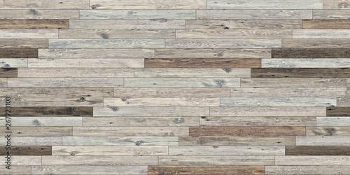 Fototapeta Seamless wood parquet texture linear pale