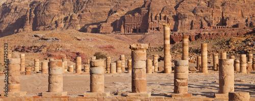 Fotografia Templo Griego, Petra, Jordania, Oriente Medio