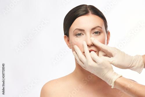Female derma rejuvenate treatment Canvas-taulu
