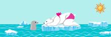 Female Polar Bear And Seal Tal...