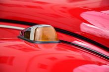 Motorhaube Mit Blinker - VW Käfer In Rot
