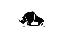 Big Rhino Logo Vector