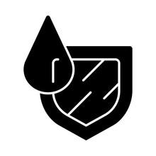 Waterproofing Glyph Icon