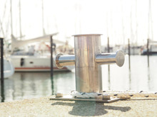 Stainless Steel Bollard With A...
