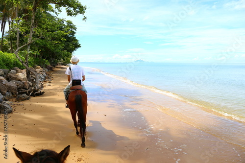 horse riding, Krabi thailand